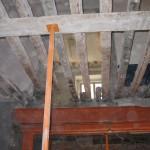 Demolición de entrevigado